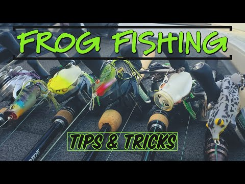 3 New Frog Fishing Tricks To Catch More FIsh!