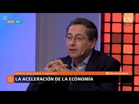 """M.Buscaglia sobre """"La aceleración de la economía"""", en """"Odisea Argentina"""" de C.Pagni - 26/03/18"""