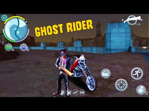 GHOST RIDER IN TOWN, CRATES & REVIEWS | Gangstar Vegas