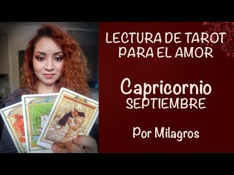 CAPRICORNIO Septiembre AMOR - ATREVETE A DAR EL PASO
