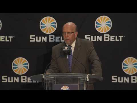 2017 Sun Belt Media Day: Commissioner Karl Benson's State of the Conference
