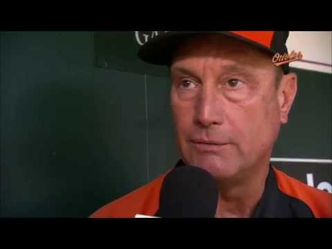 John Russell talks about Caleb Joseph and Nick Hundley filling the catcher's role