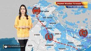 Weather Forecast for July 27: Rain in Delhi, Chandigarh, Punjab, Haryana