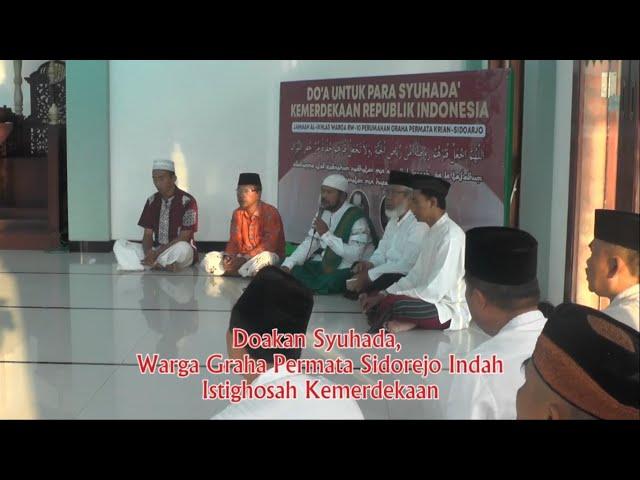 Doakan Syuhada, Warga Graha Permata Sidorejo Istighosah Kemerdekaan