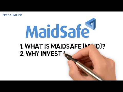 What is MaidSafe (MAID)? Why buy MaidSafe?