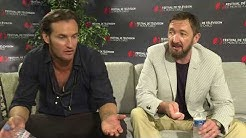 Angel Bonanni & Ralph Ineson Interview - 2017 Monte Carlo TV Festival