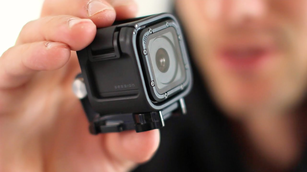 the new gopro hero4 session What is the gopro hero 4 session gopro cameras have always been impressively compact - dinky rectangles capable of capturing some of the most incredible footage the world has ever seen add waterproof housing, though, and they become much bulkier.