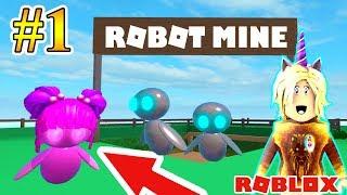 WE FOUND THE WARRIOR ROBOT MINE! 🤖 ROBLOX ROBOT SiMULATOR 🤖 ROLBLOX ENGLISH ! 2018