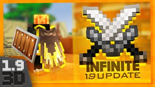 One of Fin's most viewed videos: InFinite 1.9 PvP Texture Pack - ALL NEW 3D TEXTURES!
