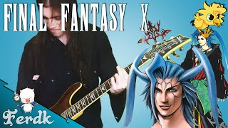 "Final Fantasy X - ""Fight With Seymour"" 【Rock Guitar Cover】 by Ferdk"