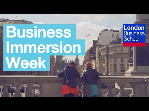 Business Immersion Week | London Business School