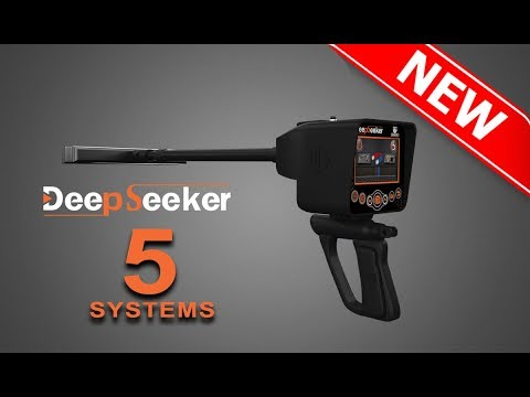 gold & metal & treasure & Cavity detectors - deep seeker device  5 systems