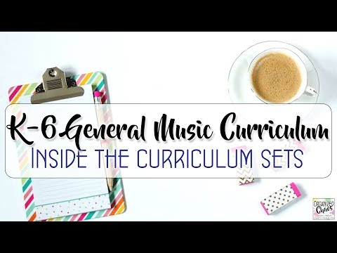 Curriculum Overview: inside my curriculum sets