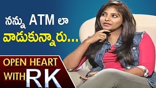 Actress Anjali Allegations Upon Her Aunt And Director Kalanjiyam | Open Heart With RK | ABN Telugu