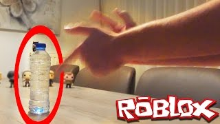 roblox bottle flip obby but everytime i die i do the water bottle flip challenge in real life