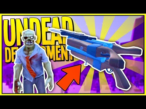 The Strongest Weapon EVER! THE ULTIMATE TRIPLE SHOTGUN - Undead Development Gameplay - VR HTC Vive