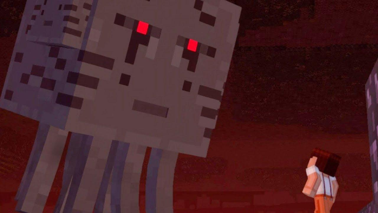 Minecraft Story Mode Season Two 3 Headed Ghast Boss