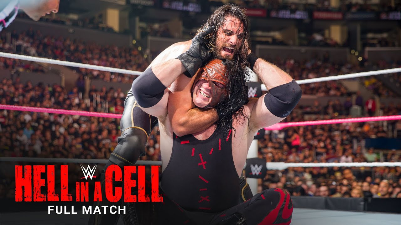 FULL MATCH - Seth Rollins vs. Kane - WWE Title Match: WWE Hell in a Cell 2015