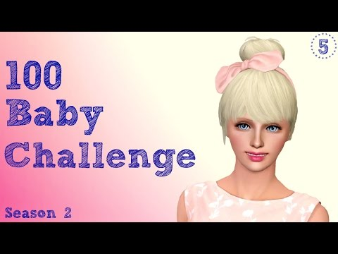 The Sims 3 100 Baby Challenge - Season 2 Pt5 - Her name is ROXY!!