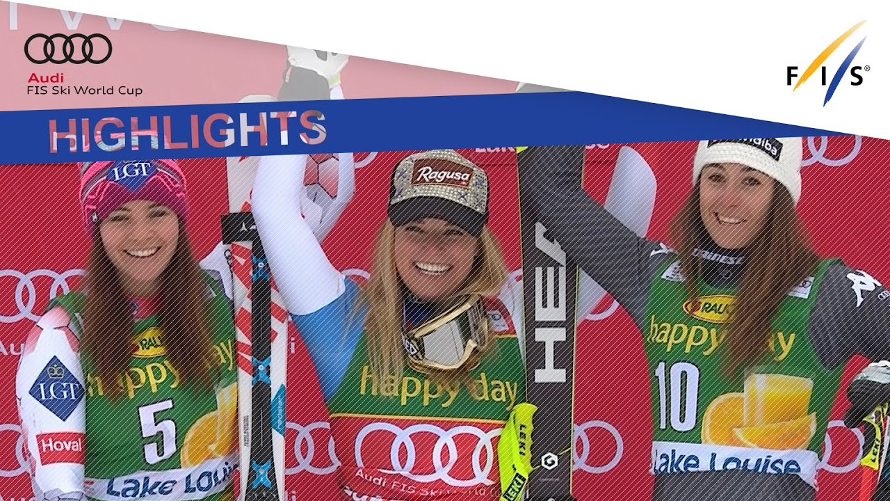 Highlights Lara Gut Soars To Victory In Lake Louise