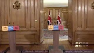 British officials give coronavirus update