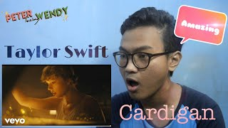 Taylor Swift - Cardigan | Indonesian Reaction