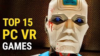 Top 15 VR PC Games of All Time