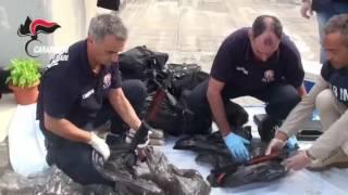 Traffico internazionale di droga e armi, tre arresti
