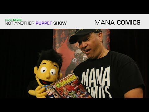 """Mana Comics"" ft. Chris Caravalho"