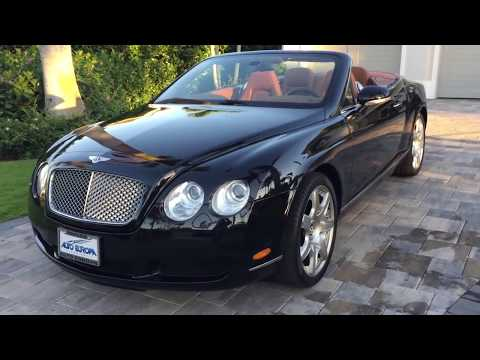 2008 Bentley Continental GTC Review and Test Drive by Bill - Auto Europa Naples MercedesExpert com