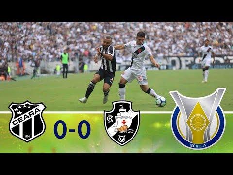 Melhores Momentos - Ceará 0 x 0 Vasco - Campeonato Brasileiro (02/12/2018)