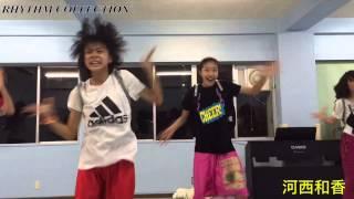 RHYTHM COLLECTIONキッズメンバーの河西和香(かわにし のどか)! 先日受...
