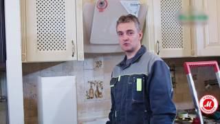 видео Высота установки вытяжки над газовой плитой