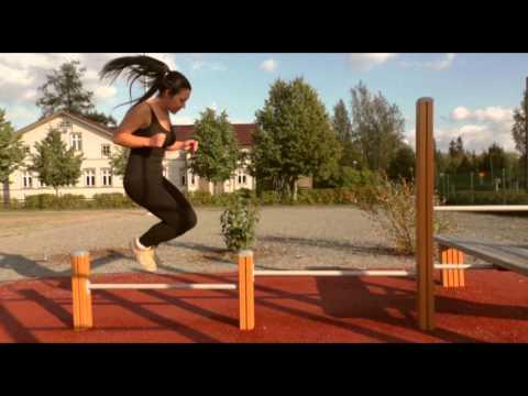 Workout motivational video