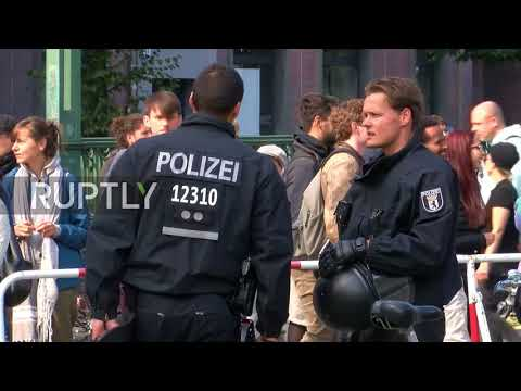 Germany: Police evict protesters from legendary Berlin theatre