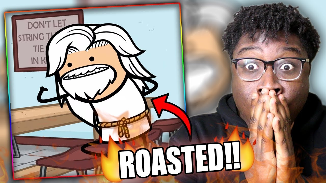 ROASTED BY GOD! | Try Not To Laugh Challenge CYANIDE & HAPPINESS EDITION!