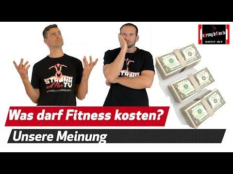 Lasst uns über Geld sprechen - Was sind Gesundheit - Fitness - Movement wert?