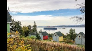 Les Chalets du Parc, Forillon, Gaspé, Gaspésie - Chalet à louer