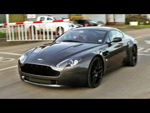 Aston Martin V8 Vantage w/ QuickSilver SuperSport exhaust - dyno run and sounds!