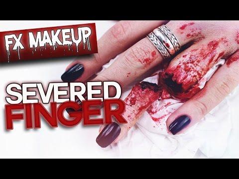 SEVERED FINGER - SFX Makeup