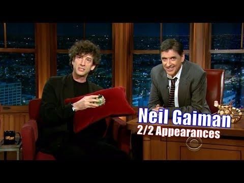 Neil Gaiman - 'American Gods' Is Based On His Novel - 2/2 Appearances on Craig Ferguson