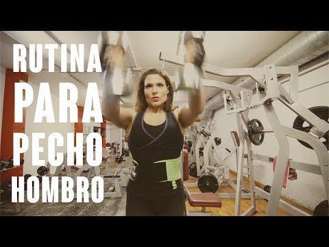 RUTINA PARA PECHO | HOMBRO | Toni Gutierrez | CuerposPerfectosTV
