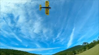 e flite umx pt 17 gws 5043 prop maiden flight 6 13 15
