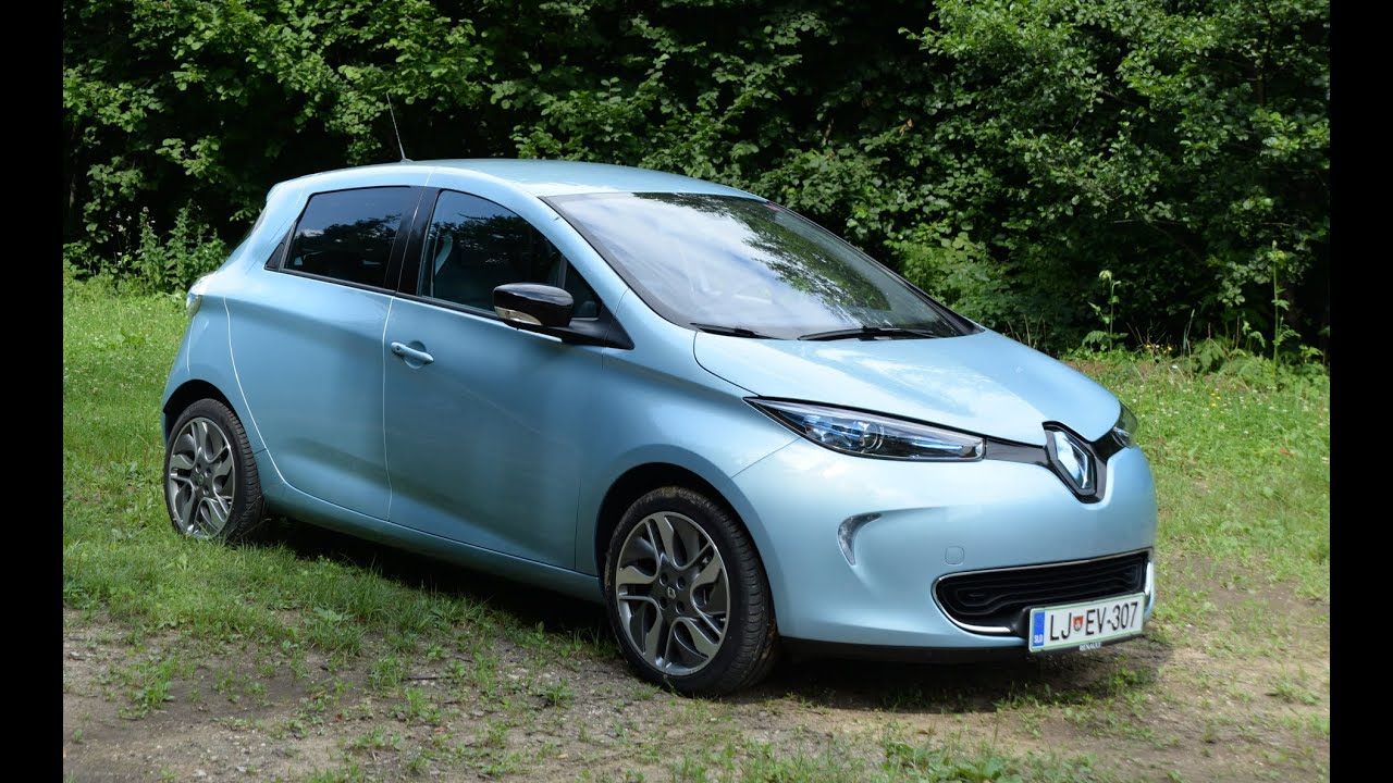 renault zoe 2015 test youtube