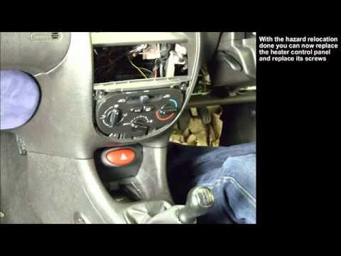 Peugeot 206 разбор передней понесли торпеды