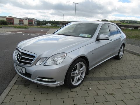 Review and Test Drive: 2011 Mercedes-Benz E200 SE 2.1 CDI (W212)