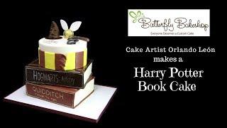 Harry Potter Book Cake Video
