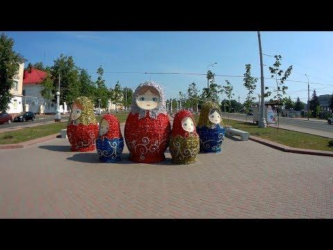 Сюжеты Набережная,Курган  г Брянск