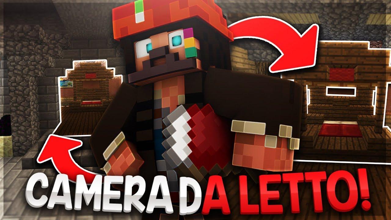 Camera Da Letto Minecraft finalmente la camera da letto! - minecraft ita #111
