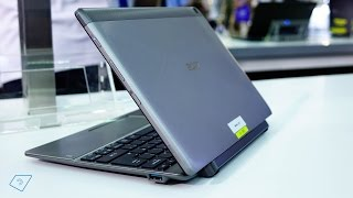 Acer Switch 10 V mit Intel ATOM X5 im Hands-On